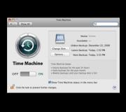Le software qui permet de configurer sa sauvegarde chez Apple